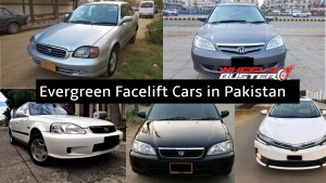 Evergreen Facelift Cars in Pakistan