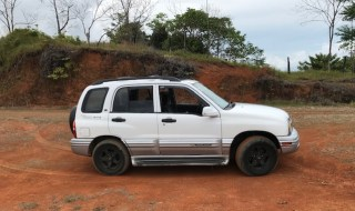 2003 Suzuki Grand Vitara offers very good offroad capability, durability, and good fuel economy compared to larger SUVs with similar characteristics.