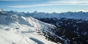 On the slopes in Chandolin – Val d'Anniviers – Switzerland