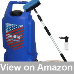 Best Pressure Washer for Cars - Caraid Portable Pressure Car Washer Review
