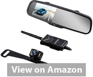 Best Rear View Camera - AUTO-VOX M6 Dash Cam Backup Camera Kit HD Mirror Cam with Motion Detection review