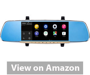 Best Rear View Camera - Ezonetronics Touch Screen Car Rearview Mirror Monitor with GPS Navigation Review