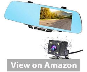 Best Rear View Camera - NEXGADGET Dash Cam,Full HD 1080P 150° Wide Angle Dual Dashboard Camera Review