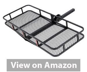 ARKSEN Folding Cargo Carrier Luggage Basket review