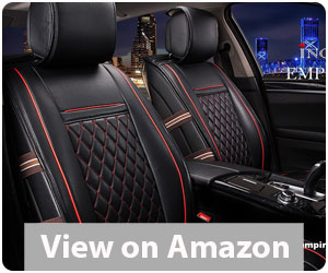 Best Car Seat Covers - INCH EMPIRE PU Leather Car Seat Full Set Review