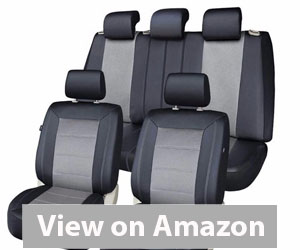 Best Car Seat Covers - PIC AUTO Full Set Mesh and Leather Car Seat Cover Review
