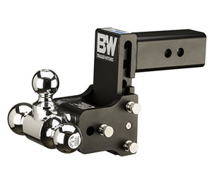 B&W Trailer Hitches Tow & Stow 5in Drop 4.5 inch Rise 1 7/8x2x2 5/16in Triple Ball Size Hitch Review