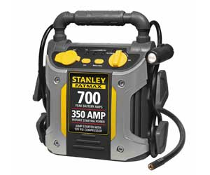 STANLEY FATMAX J7CS Power Station 700 Peak/350 Instant Amps Jump Starter with 120 PSI Air Compressor Review