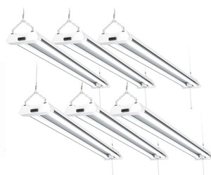 Sunco Lighting 10 Pack LED Utility Shop Light 4 FT Linkable Integrated Fixture 5000K Daylight Review