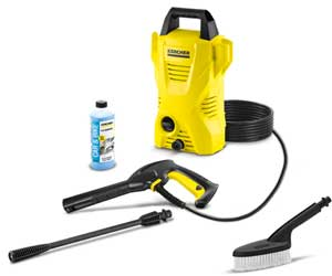 Karcher K2 Car Care Kit Electric Power Pressure Washer 1600 PSI 1.25 GPM Review