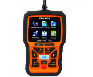 FOXWELL NT301 OBD2 Scanner Professional Enhanced OBDII Diagnostic Code Reader Review