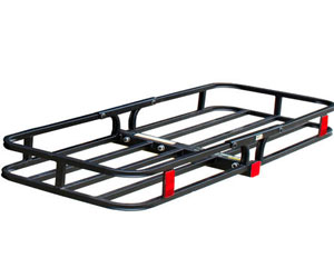 MaxxHaul 70107 Hitch Mount Compact Cargo Carrier - 53 x 19-1/2 - 500 lb. Maximum Capacity for 2 Hitch Receiver Review
