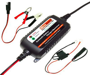 MOTOPOWER MP00205A 12V 800mA Fully Automatic Battery Charger/Maintainer Review