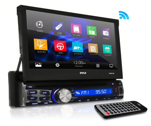 Pyle PLBT73G, Din DVD Receiver Bluetooth - 7-Inch Car Stereo Touch Screen Review