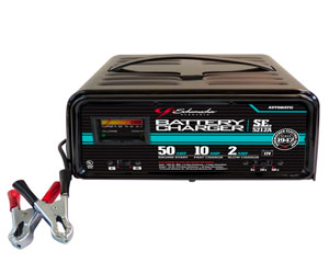 Schumacher SE-5212A 2/10/50 Amp Automatic Handheld Battery Charger Review