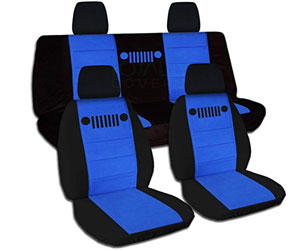 Designcovers 2011-2018 Jeep Wrangler JK Seat Covers, Full Set: Front & Rear (23 Colors) Review