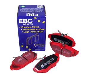 EBC Redstuff Ceramic Low Dust Brake Pads Review