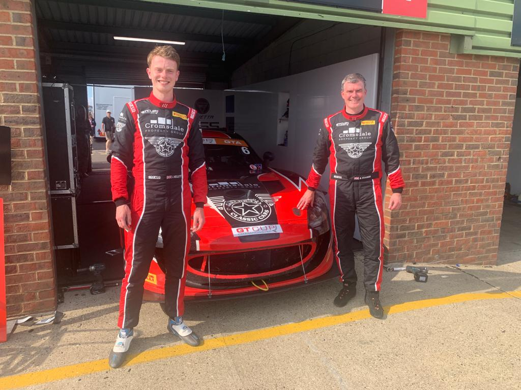James and Alex at Snetterton