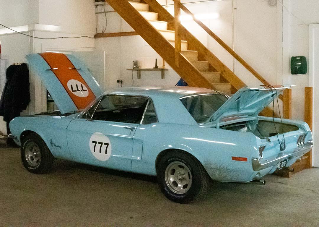 Mustang Light Resoration