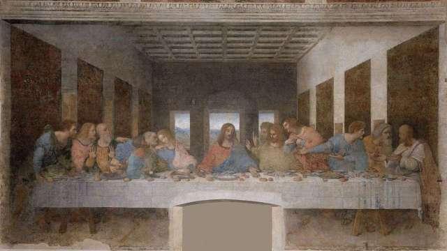 01A2 Da Vinci Last Supper 1495-98