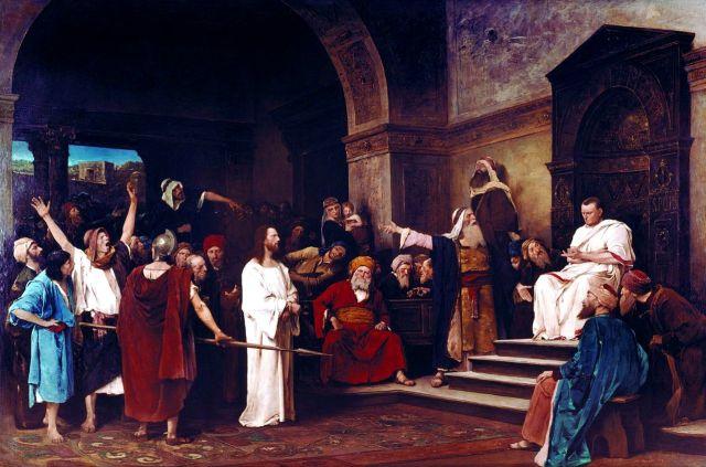 0A Michael Munkacsy-christ-before-pilate-1881