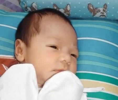 baby picture of Ezra Patrick