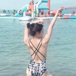 mommy beach body