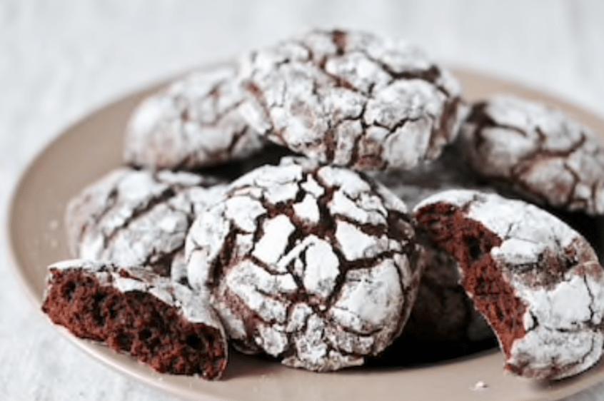 Homemade Chocolate Crinkles
