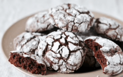 Homemade Chocolate Crinkles