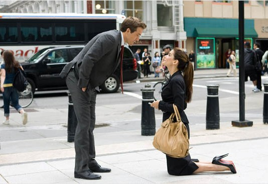 Scene from funny movie The Proposal