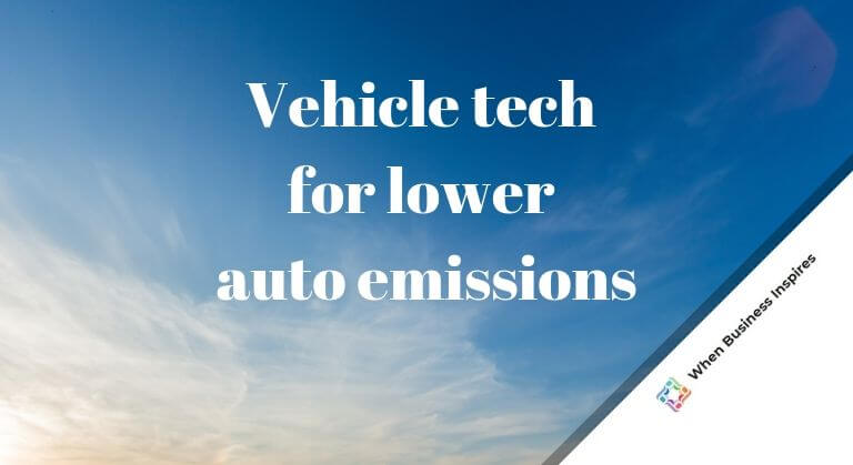 Vehicle technologies and auto emissions