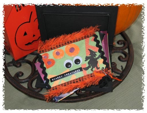 Fright Night Halloween Photo Book 3