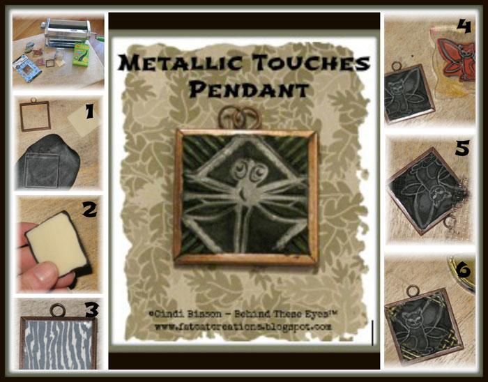 Metallic Touches Pendant