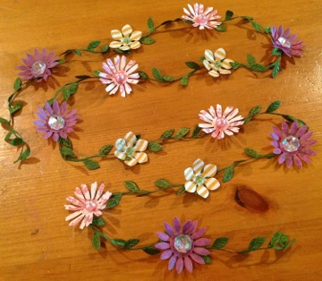 Spring Flowers Party Garland
