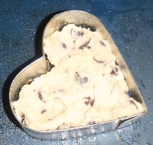 Mini Heart Chocolate Chip Cookie Pie How 1