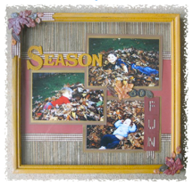 Simple Solution - Autumn Memory Frame