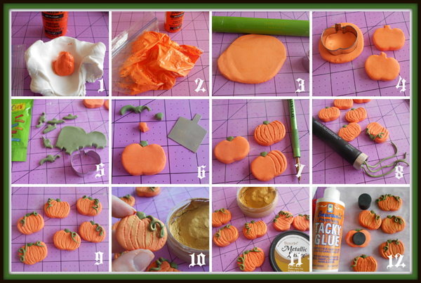 Pumpkin Magnets Step Out