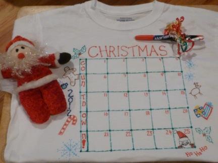 Countdown to Christmas Nightshirt