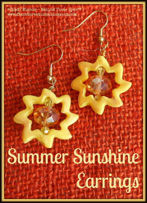Summer Sunshine Earrings
