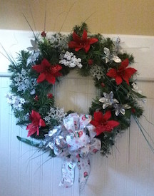 Evergreen wreath on a budget HOW 3