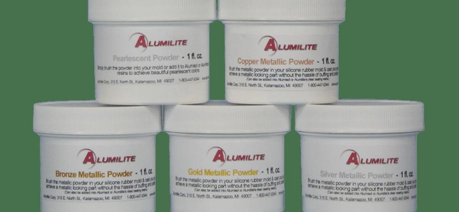 alumilite metallic powders