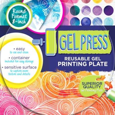 Gel Press Printing Plate