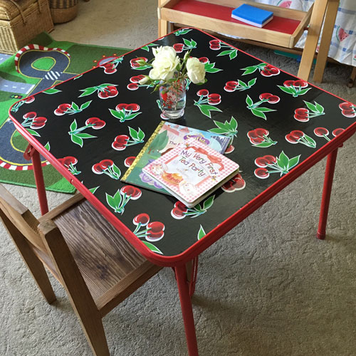 Upcycled Kids' Table