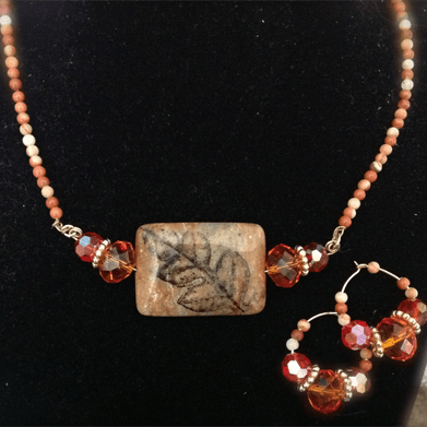 Colors of Autumn Necklace & Earrings