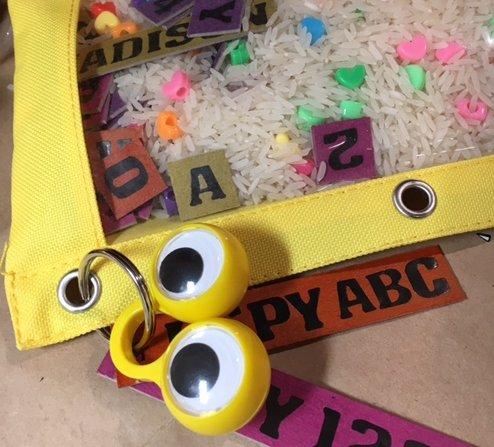 I Spy ABC, 123 Pouch