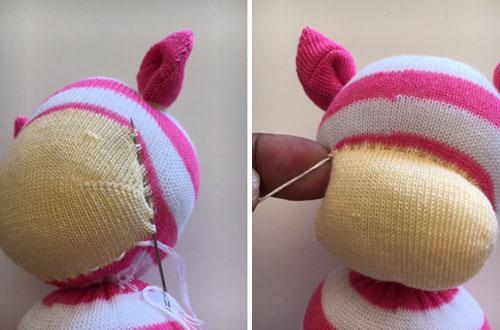 This Little Piggy Sock Animal Illustration 11