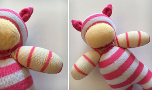 This Little Piggy Sock Animal Illustration 13