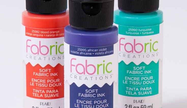 Plaid Fabric Creations Fabric Ink