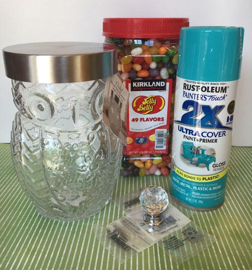 Photo Owl Jar Supplies