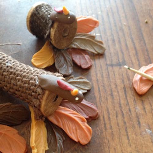 Wooden Spool Turkey How 6